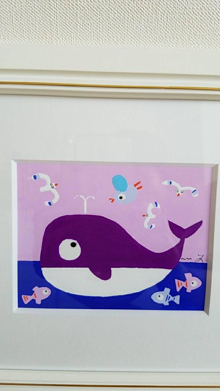 我が家にクジラ