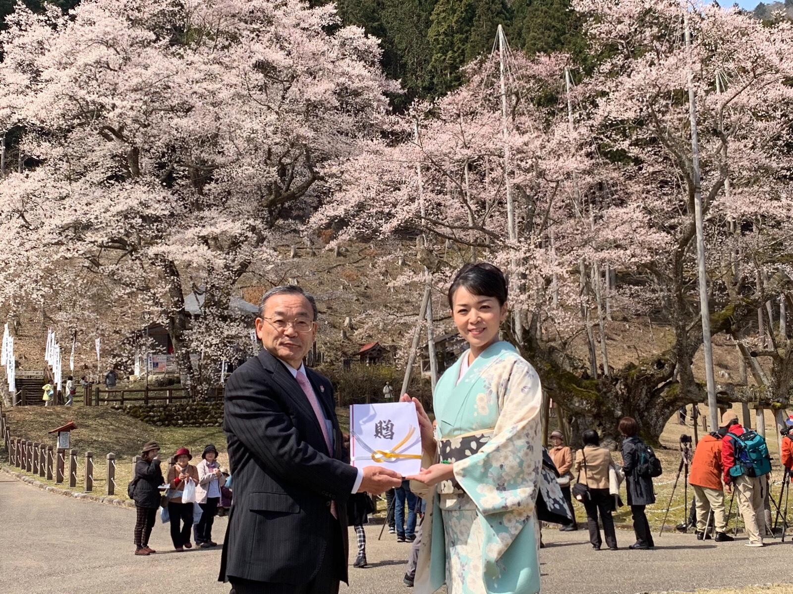 淡墨桜感謝祭