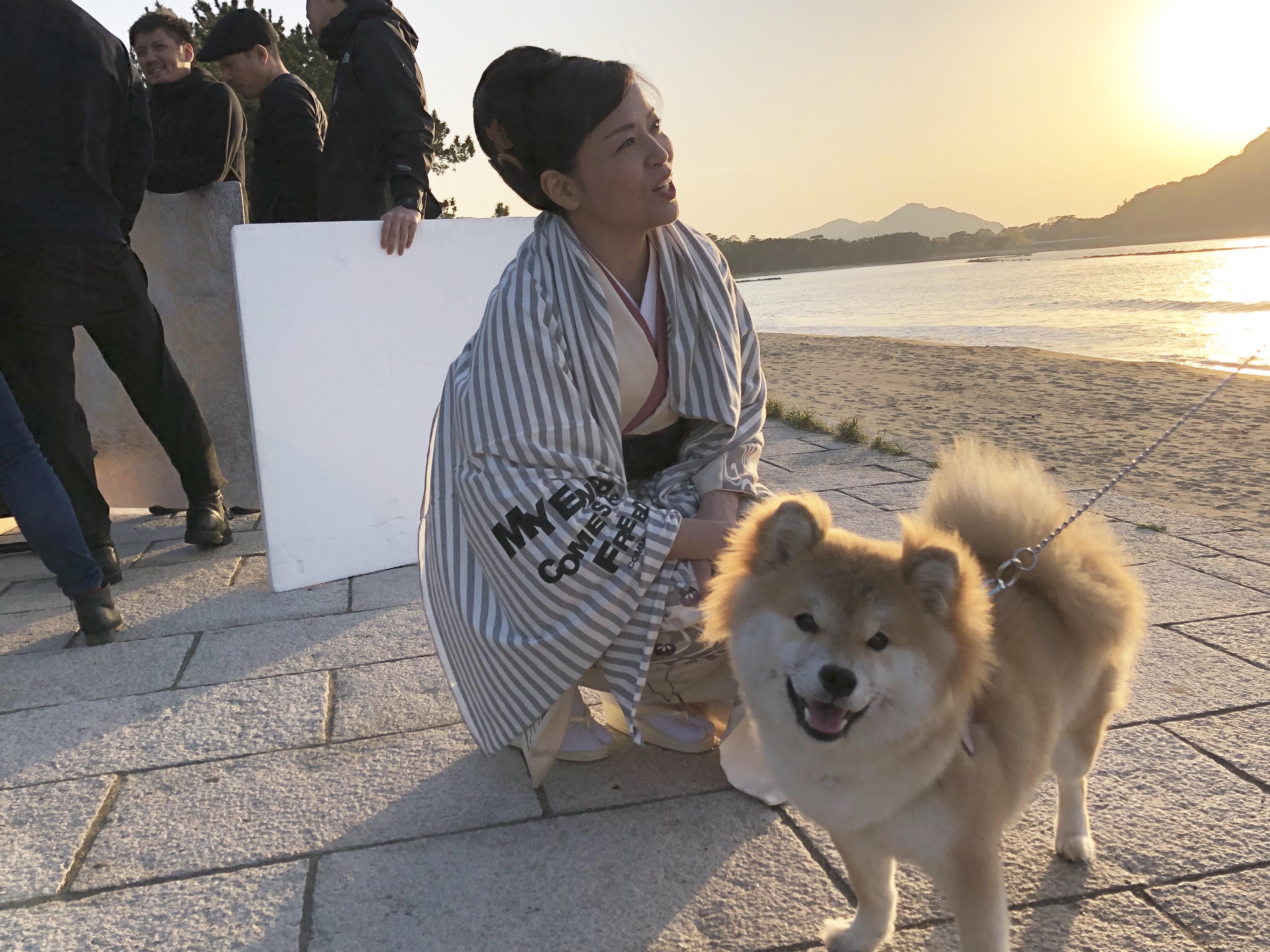 ロケ現場・その②