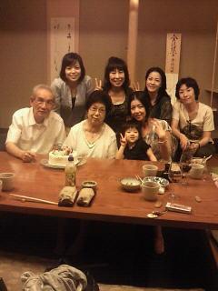 二葉先生のお誕生会