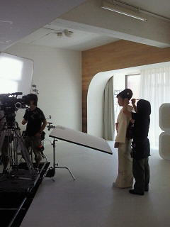 白いスタジオ
