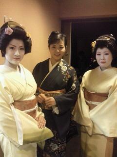 大川さんと芸妓さん